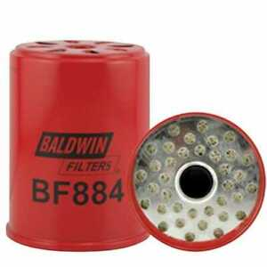 Filter - Fuel Can Type BF884 fits Massey Ferguson fits Ford fits New Holland