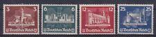 DR Mi Nr. 576 - 579 (*) aus Block 3 OSTROPA, Deutsches Reich 1935
