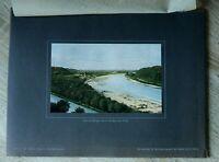 Bayern 1918/19 München OBB Großhesselohe Brücke Ortsansicht Blick auf 27x36cm