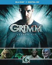 GRIMM - SEASON 6 - BLU RAY  - Sealed Region free