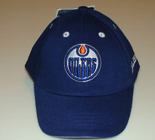 Edmonton Oilers Kids Child NHL Hockey Cap Hat 4-6x Mighty Mac OSFM  Blue Stretch