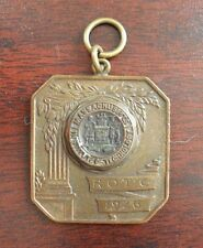 RARE 1926 Military Pendant or Fob - MIT Mass ROTC LOOK