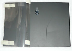 BRAND NEW GENUINE DELL ALIENWARE M14X LID TOP COVER MATT BLACK CNT97 0CNT97