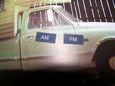 AM FM Radio filter window Delco1969 70 71 1972 Chevy / GMC truck Corvette NEW