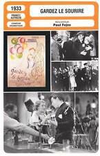 FICHE CINEMA : GARDEZ LE SOURIRE - Annabella,Féjos 1933