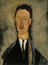 Portrait of the Artist Leopold Survage Amedeo Modigliani Künstler B A3 00456