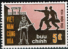 Vietnam War South Soldiers stamp 1971 MH