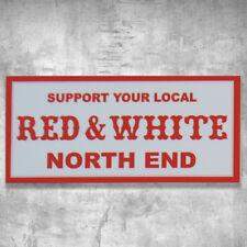 Support 81 Sticker Aufkleber SYL Red & White Big Red Machine HAMC North End