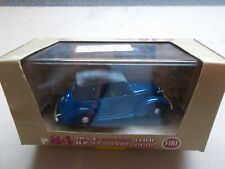 BRUMM Fiat 508 C cabriolet -1100 boxed 1/43 scale - blue