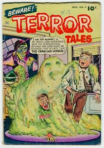 BEWARE TERROR TALES #4 VG  Horror