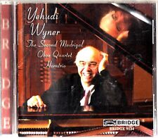 Yehudi Wyner-The Second Madrigal; Oboe Quartet CD -Horntrio (James Buswell)