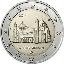 """2 euro commémorative Allemagne 2014 NEUVE UNC  """"lettre aléatoire"""""""