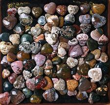 WHOLESALE PRICE! 50Pcs Beautiful Ocean Jasper Polished Love Heart For Gift