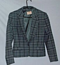 Vintage PENDLETON Originals Town & country tweed ladies jacket size 6