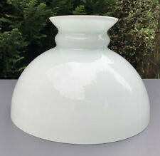 More details for vintage milk glass oil lampshade