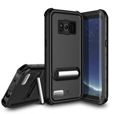 For Samsung Galaxy S8 Plus Waterproof Case Cover with Kickstand Screen Protector