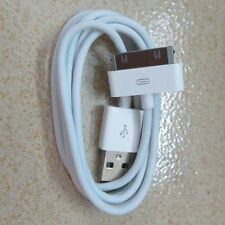 White USB 2.0 Data Sync Charger Cable For iPod iTouch iPhone 4s 4 4G 3Gs 3G CITI