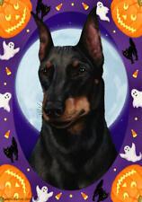 Manchester Terrier Halloween Howls Flag