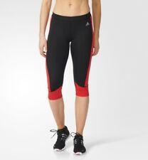 ADIDAS - Womens Techfit Trainig Leggins black/red XL BNWT