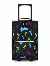 Fortnite Rolling Luggage Carry On Suitcase Multi Dancers Design