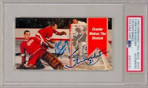 Stan Mikita Bill Gadsby Signed Autograph 1994 Parkhurst Tall Boys #157 PSA DNA