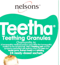 Nelsons Teetha Teething Granules Chamomilla 6c - 24 Sachets