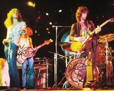 Reprint - Led Zeppelin Robert Plant - John Bonham Signed 8 x 10 Glossy Photo Rp