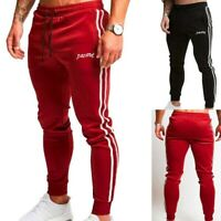 Long Sports  Pants Slim Fit Joggers Trousers Gym Sweatpants Casual  Men Running