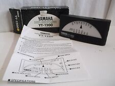 Yamaha YT-1200 Guitar / Bass Auto Tuner In Box w/ Manual Musician's must L@@K