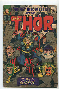 Journey Into Mystery #123 GD/VG With The Mighty Thor  Marvel *SA