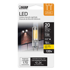 Feit Electric 2.5 Watts Gy8.6 Led Bulb 160 Lumens Soft White Specialty 20 W