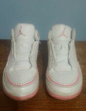 Air Jordan Nike 2.5 Team Low Youth Pink/ White Shoes! Size 6Y!! 343139-161