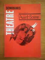 L'avant scène théâtre N°297 1963 Sémiramis Camoletti - Mervent - Dyer - Camus