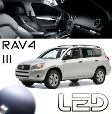 RAV4 3 6 Ampoules LED Blanc éclairage intérieur plafonnier Coffre Pare soleil