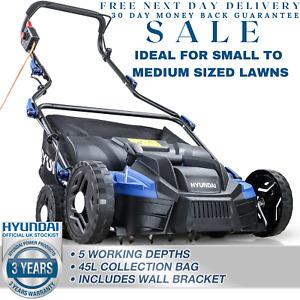 Electric Scarifier Lawn Aerator Scarifier Raker Machine 230v 2in1 HYUNDAI