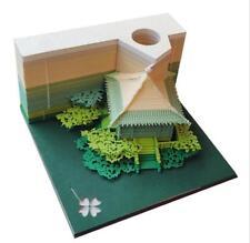 DIY Scrapbooking Omoshiroi Block 3D Post-it Notes Convenience Creative Stickers