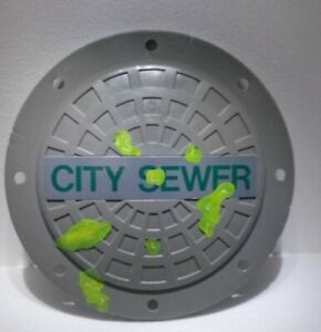 TMNT City Sewer Shield Cosplay 1991 Mirage Play Mates