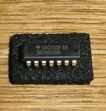 4 x SN 74 HC 20  ( = 4 pcs = Dual 4-Input-NAND Gate )