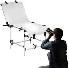 Non Reflective Photography Shooting Table Kit Portable PVC Surface Adjustable