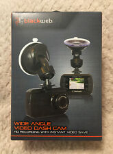 New Blackweb Wide Angle Video Dash Cam - Hd Recording With Instant Video Save