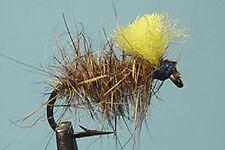1 x Mouche peche Emergente Oreille Lievre Dadat H12/14 fly fishing trout fliegen