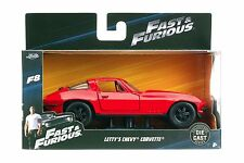 Jada Fast & Furious 8 Letty's Chevy Corvette 1:32 98306 Red