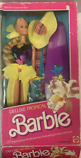 Rare Tropical Deluxe Barbie Collectible! New - Open Box, Vintage Barbie Pictures