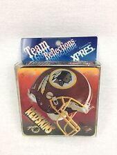 Vintage 1995 Team NFL Washington Redskins Rubber Coasters Set Of 4 #2700
