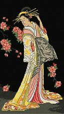 Japanese Geisha - Counted Cross Stitch Chart from Country Threads