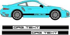 Porsche 911 / Cayman / Boxster Side Stripes