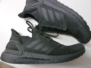 Adidas Ultraboost 20 Gr. 47,5 / US 12,5 / 30,5 cm Artikel # EG0691 black schwarz