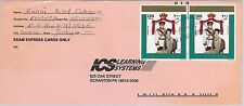 61241  - JORDAN - POSTAL HISTORY -  COVER to THE NETHERLANDS - ROYALTY