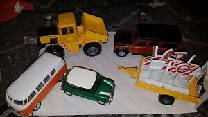 Scalextric Scenery Vehicles