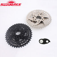 SunRace 8 Speed 11-40T MTB Bike Cassette Derailleur Wide Ratio fit Shimano SRAM